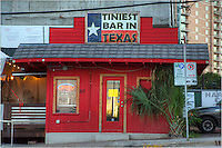 As the name states, this little pub claims to be the tiniest bar in Texas. It resides on 5th Street in Austin near downtown.