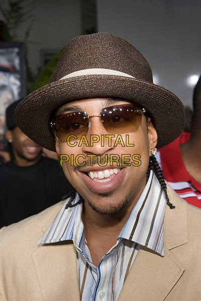 """LUDACRIS.At the """"Hustle & Flow"""" Los Angeles Film Premiere,.held at the Arclight Cinerama Dome, .Hollywood, California, USA, 20th July 2005..portrait headshot hat sunglasses beard stubble.Ref: ADM.www.capitalpictures.com.sales@capitalpictures.com.©Zach Lipp/AdMedia/Capital Pictures."""
