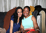 Honorees Mari White and Pamela Washington Attend The 4th Annual Beauty and the Beat: Heroines of Excellence Awards Honoring Outstanding Women of Color on the Rise Hosted by Wilhelmina and Brand Jordan Model Maria Clifton Held at the Empire Room, NY 3/22/13