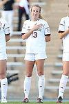 22 November 2013: Texas A&M's Leigh Edwards (13). The Texas A&M University Aggies played the Texas Tech University Red Raiders at Fetzer Field in Chapel Hill, NC in a 2013 NCAA Division I Women's Soccer Tournament Second Round match. Texas A&M advanced by winning the penalty kick shootout 4-3 after the game ended in a 2-2 tie after overtime.
