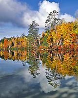 Upper Togue Pond near Baxter State Park, Maine