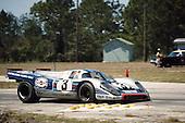 Winning Porsche 917K of Vic Elford/Gerard Larousse in 1971 Sebring 12-hour race; <br /> PLEASE CREDIT Photo by Pete Lyons / www.petelyons.com