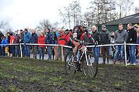 WIELRENNEN: SURHUISTERVEEN: 02-01-2014, <br /> Centrumcross, &copy;foto Martin de Jong