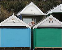Beach hut owners lose their sea views.