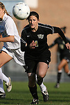 27 November 2009: Wake Forest's Jill Hutchinson. The University of North Carolina Tar Heels defeated the Wake Forest University Demon Deacons 5-2 at Fetzer Field in Chapel Hill, North Carolina in an NCAA Division I Women's Soccer Tournament Quarterfinal game.