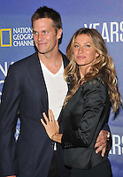 New York, NY- September 21: Tom Brady, Gisele Bundchen attends National Geographic's 'Years Of Living Dangerously' new season world premiere at the American Museum of Natural History on September 21, 2016 in New York City.@John Palmer / Media Punch