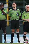 05 September 2016: Fourth Official Jeremy Smith. The University of North Carolina Tar Heels hosted the Virginia Commonwealth University Rams at Fetzer Field in Chapel Hill, North Carolina in a 2016 NCAA Division I Men's Soccer match. UNC won the game 3-2.