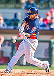 4 March 2016: Houston Astros outfielder Andrew Aplin in action during a Spring Training pre-season game against the St. Louis Cardinals at Osceola County Stadium in Kissimmee, Florida. The Astros defeated the Cardinals 6-3 in Grapefruit League play. Mandatory Credit: Ed Wolfstein Photo *** RAW (NEF) Image File Available ***
