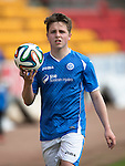 St Johnstone Academy v Manchester Utd Academy&hellip;.06.05.16  McDiarmid Park, Perth<br />Blane Duncan<br />Picture by Graeme Hart.<br />Copyright Perthshire Picture Agency<br />Tel: 01738 623350  Mobile: 07990 594431