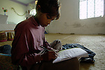 Shahid Liaqat studies in a school for poor children held in St. Mathew's Church in the Punjab village of Bajasinsingh. This school is sponsored by the Church of Pakistan.