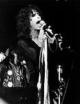 Aerosmith 1977 Steven Tyler.© Chris Walter.