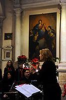 Canto e disCanto. Direttore M° Maria Michela (Milli) Taddei.Coro Upter di Roma Nord.Chiesa di Santo Stefano Nuovo, Fiano Romano.Concerto per il Nuovo Anno...