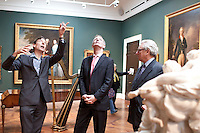 12/03/2012 Visit by Tourism Minister John Penrose MP to Bath Visitor Information Centre, Museum of Costume and Holburne Museum as part of the launch of Bath Visitor Information Centre and Tourism Week..Full captions available from David Jackson, Bath Tourism Plus, 01225 322430.© Tim Gander 2011. All rights reserved. Tel: 07703 124412/email tim@timgander.co.uk