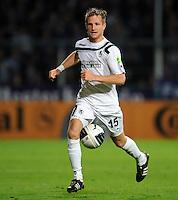 FUSSBALL   DFB POKAL   SAISON 2011/2012  1. Hauptrunde VfL Osnabrueck - TSV 1860 Muenchen                29.07.2011 Stefan AIGNER (1860 Muenchen) Einzelaktion am Ball