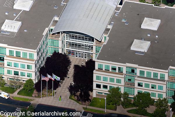 aerial photograph Cupertino, San Clara county, California