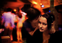 Prostitutes in Bar.<br /> The traditional Yayla lifestyle is under assault by one of the strangest of bedfellows.  Sharing borders with Georgia, this area of Turkey has become the jumping off point for prostitutes from the fallen Soviet Union. So, when an Islamic farmer goes in to town to sell his calf, he often wanders out dazed with no money for beans to feed his family.<br /> Turkish housewives, angered by the influx of prostitutes and what their husbands were doing at night, created a fundamentalist Islamic movement in Trabzon.