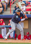 5 March 2016: Detroit Tigers designated hitter Victor Martinez in action during a Spring Training pre-season game against the Washington Nationals at Space Coast Stadium in Viera, Florida. The Tigers fell to the Nationals 8-4 in Grapefruit League play. Mandatory Credit: Ed Wolfstein Photo *** RAW (NEF) Image File Available ***