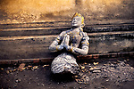 Discarded statue, Luang Prabang, Laos, 2006<br />