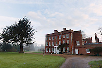 Main house, Dojima Sake Brewery, Ely, UK, December 5, 2016.The Fordham Abbey Estate is set to be the site of the UK's first sake brewery. Work is underway on a new brewery and visitor centre, while the Grade II listed Georgian main house will host Japanese food and sake tasting events.