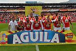 Independiente Santa Fe venció como local 2-0 a Cortuluá. Fecha 6 Liga Águila I-2017.