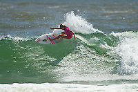 SNAPPER ROCKS, Queensland/Australia (Sunday, 26 February, 2012) Pauline Ado (FRA).– The world's best female surfers returned to the Snapper Rocks lineup for Round 2 of the Roxy Pro Gold Coast presented by Land Rover this morning, continuing to push the boundaries of high-performance surfing in front of a capacity crowd on the beach...Laura Enever (AUS), 20, 2012 ASP Top 17 sophomore and Semifinalist at last year's Roxy Pro Gold Coast, advanced to Round 3 this morning after a close heat against Jacqueline Silva (BRA), 32. Both surfers struggled to find a good score early in the heat but built up the momentum with exciting exchanges towards the finish..Lakey Peterson (USA), 17, 2012 ASP Women's World Championship Tour rookie bounced back from a Round 1 loss yesterday, by defeating Pauline Ado (FRA), 21, in this morning's Round 2. Peterson caught one of the best looking waves of the day and launched into a series of carving turns and was rewarded with a 9.00 (out of a possible 10) by the judges..Photo: joliphotos.com