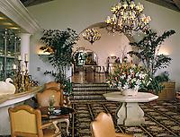 Biltmore, Santa Barbara, CA, Four Seasons, Hotel, Resort, Hospitality,  Lounge, Arch, Commercial, interior, lifestyle, decor, Spanish, Adobe, No People, Photo, Image, Stock Photography