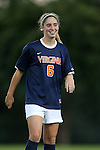 26 September 2013: Virginia's Morgan Brian. The Duke University Blue Devils hosted the University of Virginia Cavaliers at Koskinen Stadium in Durham, NC in a 2013 NCAA Division I Women's Soccer match. Virginia won the game 3-2.