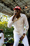 Theophilus London Performs at Nas & Damian Marley at Central Park SummerStage, NY  8/11/11