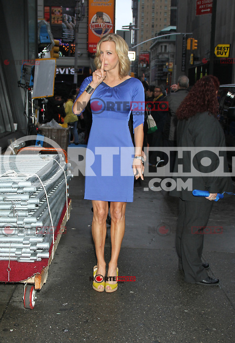May 04, 2012 Lara Spencer host of Good Morning America seen in New York City. Credit: RW/MediaPunch Inc.