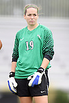 18 September 2011: Florida State's Kelsey Wys. The Duke University Blue Devils defeated the Florida State University Seminoles 2-1 at Koskinen Stadium in Durham, North Carolina in an NCAA Division I Women's Soccer game.