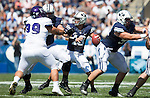 _88R4627..2012 FTB vs Weber State University..BYU - 45.Weber State - 6. .Photo by Jaren Wilkey/BYU..September 8, 2012..© BYU PHOTO 2012.All Rights Reserved.photo@byu.edu  (801)422-7322