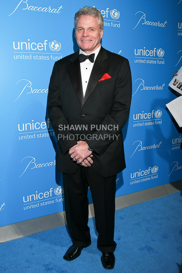 Baccarat CEO Michael Bellevue arrives at the UNICEF Snowflake Ball, Presented by Baccarat, at Cipriani 42nd Street, November 30, 2010.