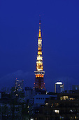 April 11, 2008; Tokyo, Japan - View of Tokyo Tower from Roppongi Hills...Photo credit: Darrell Miho