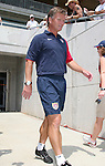 30 July 2006: U.S. head coach Greg Ryan (USA). The United States Women's National Team defeated Canada 2-0 at SAS Stadium in Cary, North Carolina in an international friendly soccer match.