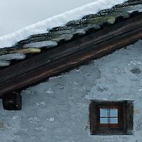 Macugnaga, Italy rooftop