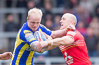Picture by Allan McKenzie/SWpix.com - 04/03/2017 - Rugby League - Betfred Super League - Salford Red Devils v Warrington Wolves - AJ Bell Stadium, Salford, England -