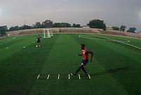 Boyd Okwuonu. U.S. Under-17 Men Training  Kano, Nigeria