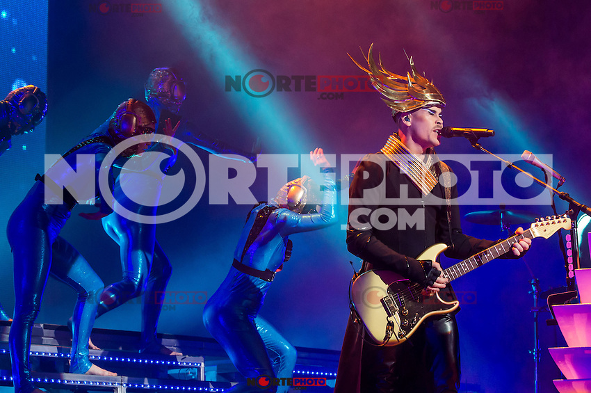 LAS VEGAS, NV - April 9 : Empire Of The Sun performs at The Chelsea at The Cosmopolitan Of Las Vegas in Las Vegas, NV on April 9, 2014. © Kabik/ Starlitepics ***HOUSE COVERAGE***
