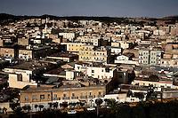 The Eritrean capital Asmara..