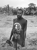'Superhero' T-shirt fashion,  Western Province, Papua New Guinea,