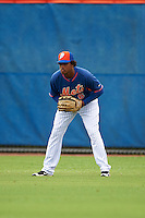 New York Mets outfielder Wagner Lagrange (6) during an Instructional League game against the Miami Marlins on September 29, 2016 at the Port St. Lucie Training Complex in Port St. Lucie, Florida.  (Mike Janes/Four Seam Images)
