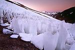 Nieve Penitente, Paso del Agua Negra, Cordillera de los Andes,  Coquimbo region, Chile