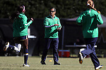 23 October 2016: Notre Dame assistant coach Diego Bocanegra. The Wake Forest University Demon Deacons hosted the University of Notre Dame Fighting Irish at Spry Stadium in Winston-Salem, North Carolina in a 2016 NCAA Division I Women's Soccer match. Notre Dame won the game 1-0.