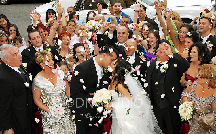 The wedding of Antonietta Rubino and Gerard Iucci at St.Rosalia-Regina ...