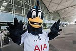 Tottenham Hotspurs' mascot Chirpy visits Hong Kong 23Oct2013