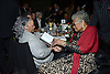 Toni Morrison and Maya Angelou  attend the 2013 National Book Awards Dinner and Ceremony on November 20, 2013 at Cipriani Wall Street in New York City.