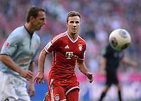Fussball  1. Bundesliga  Saison 2013/2014  9. Spieltag FC Bayern Muenchen - 1. FSV Mainz     19.10.2013 Mario Goetze (Mitte, FC Bayern Muenchen)
