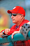 6 March 2012: Washington Nationals Owner Mark Lerner watches batting practice prior to a Spring Training game against the Atlanta Braves at Champion Park in Disney's Wide World of Sports Complex, Orlando, Florida. The Nationals defeated the Braves 5-2 in Grapefruit League action. Mandatory Credit: Ed Wolfstein Photo