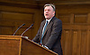 Ed Balls MP Shadow Chancellor of the Exchequer speaking at the UK Infrastructure Conference at ICE, One Great George Street, London, Great Britain on 3rd February 2015 <br /> <br /> Ed Balls MP <br /> <br /> <br /> Photograph by Elliott Franks <br /> <br /> Image licensed to Elliott Franks Photography Services