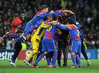 FUSSBALL   CHAMPIONS LEAGUE   SAISON 2011/2012     23.11.2011 FC Basel - Manchester United SCHLUSSJUBEL FC Basel